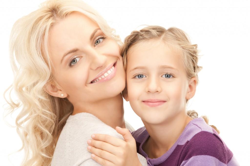 Fotka matka s dítětem